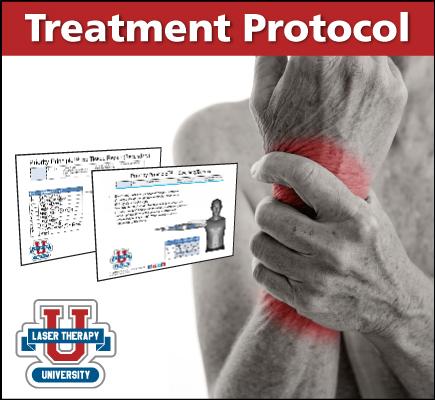 Wrist Osteoarthritis Protocol Laser Therapy U
